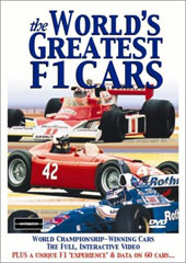 The World's Greatest F1 Cars on DVD
