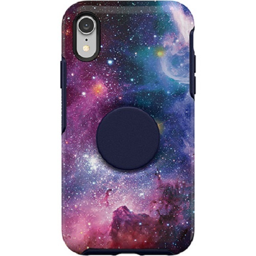 Otter + Pop: Symmetry for iPhone XR - Blue Nebula