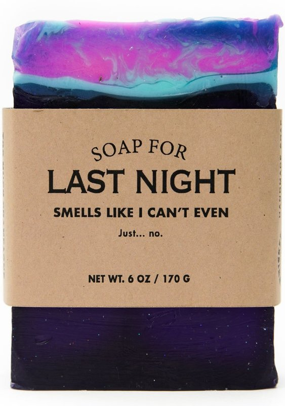 Whiskey River Co: Soap - For Last Night