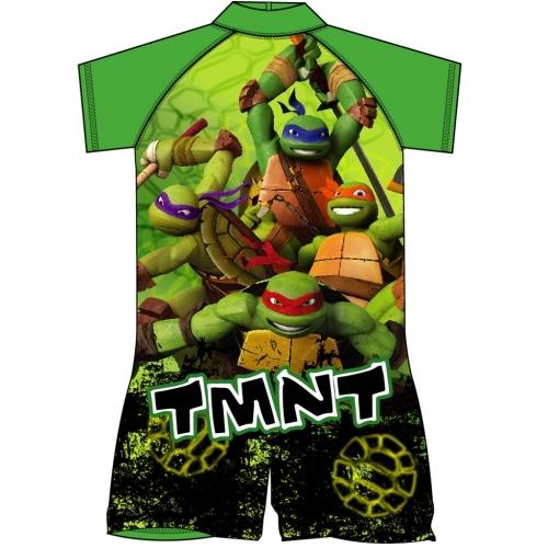 Teenage Mutant Ninja Turtles: Sun Safe UV Protection Boys Swimsuit - 3-4