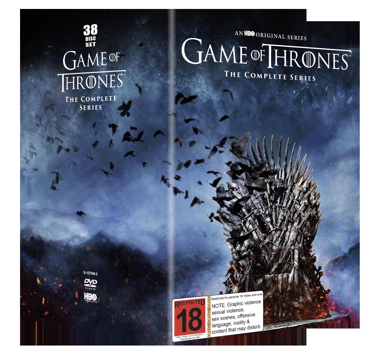 Game of Thrones Season 1-8 on DVD image