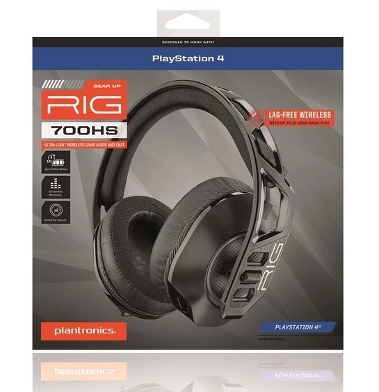 Plantronics RIG700HS Wireless PS4 Gaming Headset for PS4 image