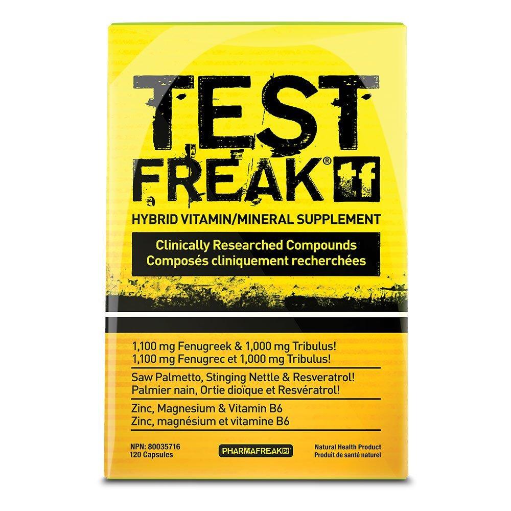 PharmaFreak: Test Freak 2.0 (180 Capsules) image