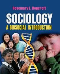 Sociology by Rosemary L Hopcroft image