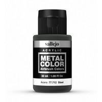 Vallejo Metal Colour Steel (32ml)