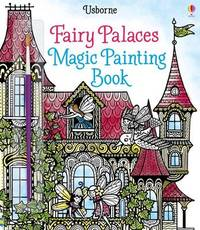Fairy Palaces Magic Painting Book by Lesley Sims image