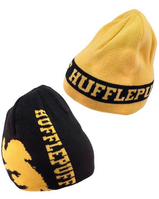 df94ffdbac1 Harry Potter - Hufflepuff Reversible Knit Beanie