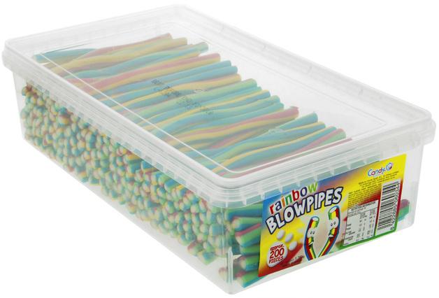 Nowco: Rainbow Blowpipes (200pk)