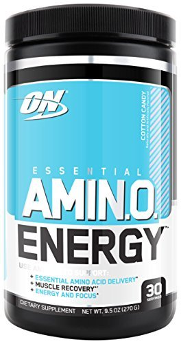Optimum Nutrition Amino Energy Drink - Cotton Candy (270g) image