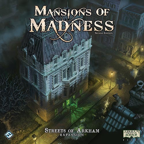 Mansions of Madness: Streets of Arkham Expansion image