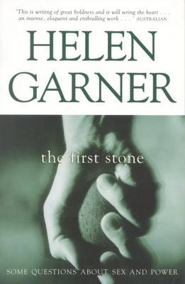 The First Stone by Helen Garner image