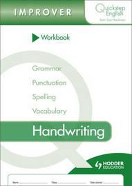 Quickstep English Workbook Handwriting Improver Stage by Sue Hackman image