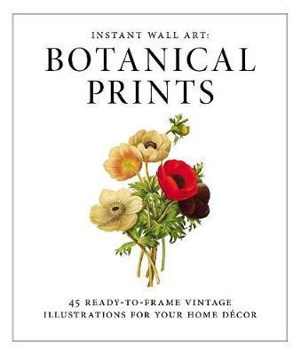 Instant Wall Art - Botanical Prints by Adams Media