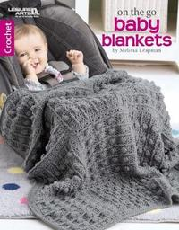 On the Go Baby Blankets by Melissa Leapman