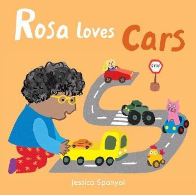 Rosa Loves Cars by Jessica Spanyol image