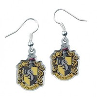 Harry Potter: Hufflepuff Crest Earrings