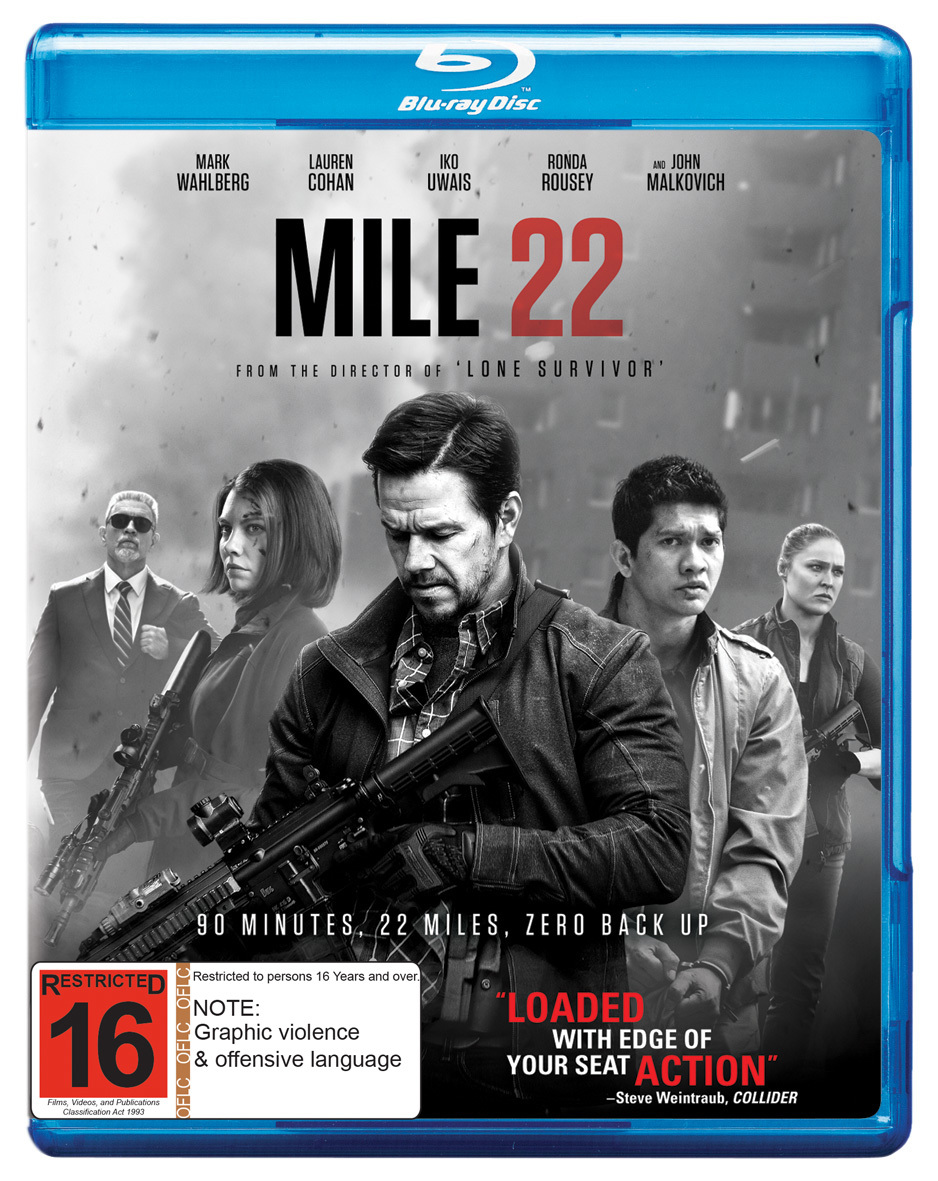 Mile 22 on Blu-ray image