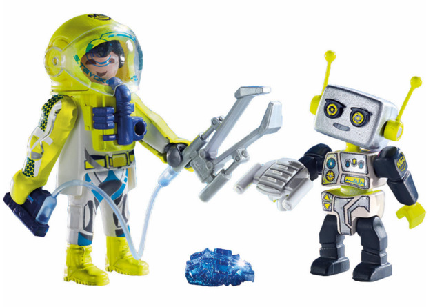 Playmobil: Space - Astronaut & Robot Duo Pack (9492)