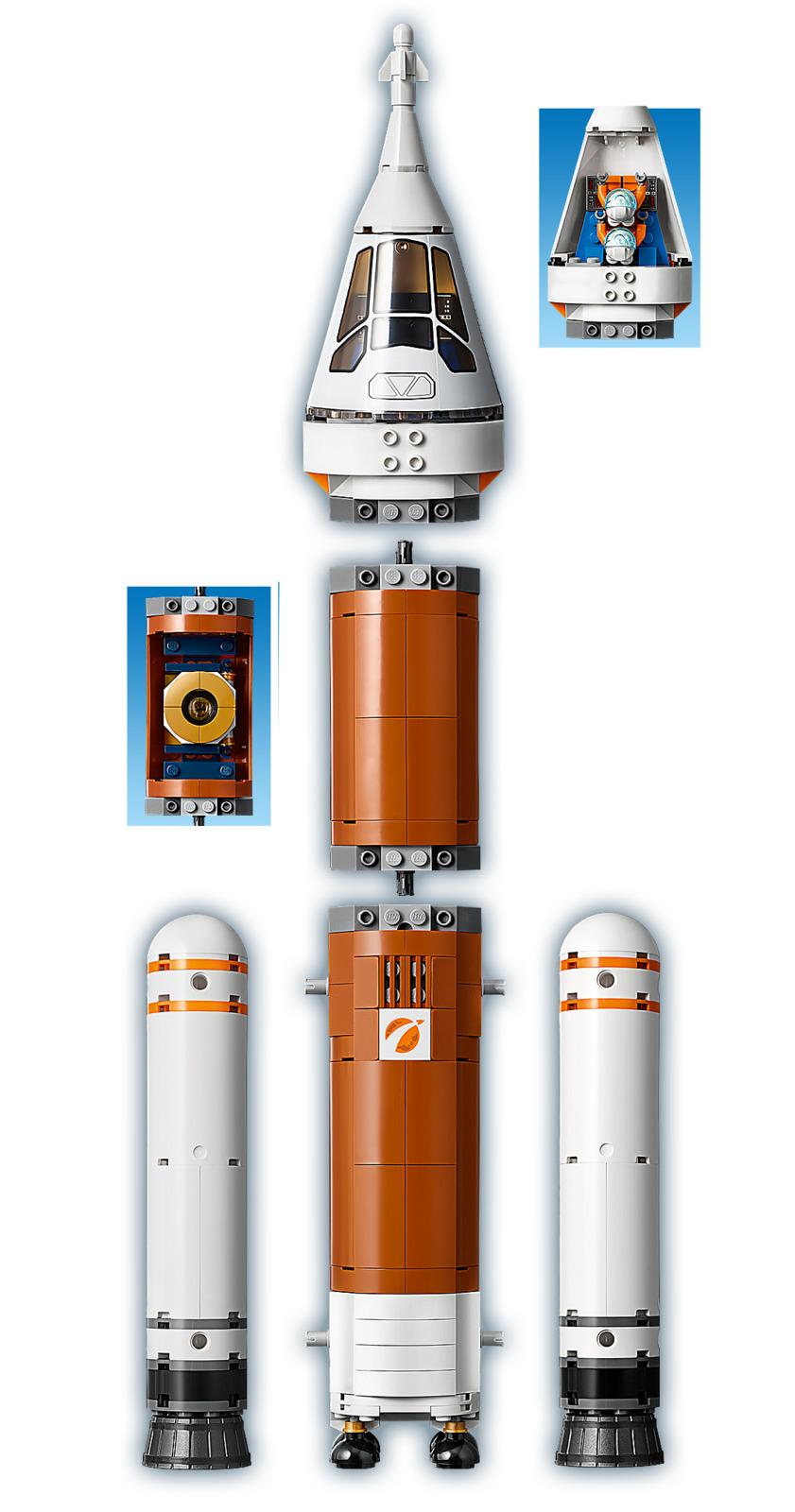 60228 Lego City space port Deep Space Rocket Et Launch ...