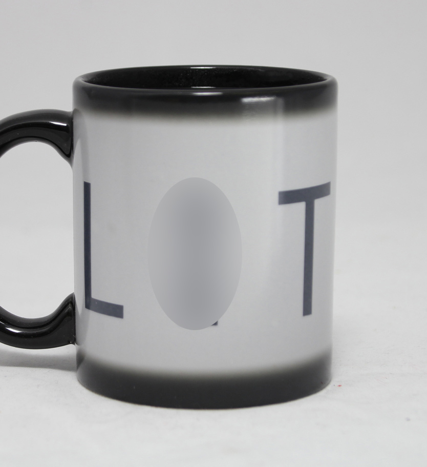 Rude Reveal Heat Change Mug - LIT image