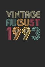 Vintage August 1993 by Vintage Publishing image