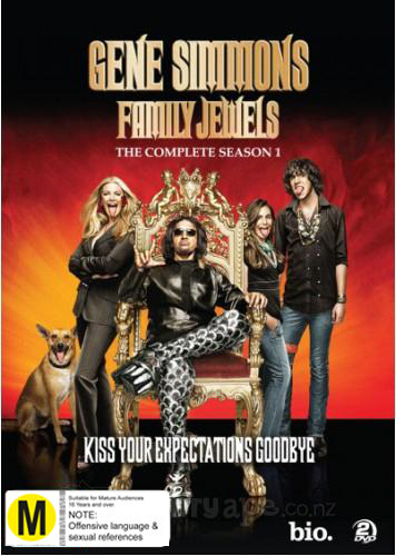 Gene Simmons Family Jewels - The Complete Season 1 on DVD