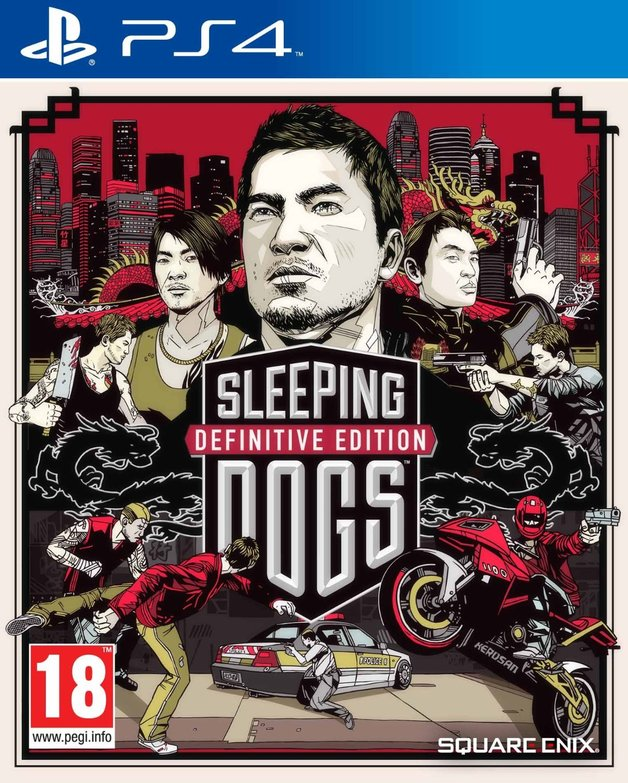 Sleeping Dogs Definitive Edition for PS4