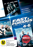 The Fast And Furious 4 - 6 DVD
