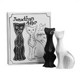 Jonathan Adler Ceramic Cat Salt and Pepper Shakers