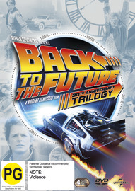 Back To The Future Trilogy Set (Bonus Disc) on DVD