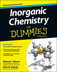 Inorganic Chemistry For Dummies by Michael Matson