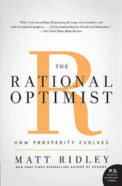 The Rational Optimist by Matt Ridley image