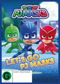 PJ Masks - Let's Go on DVD