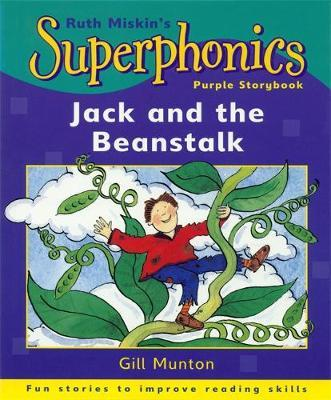 Superphonics: Purple Storybook: Jack and The Beanstalk by Gill Munton image