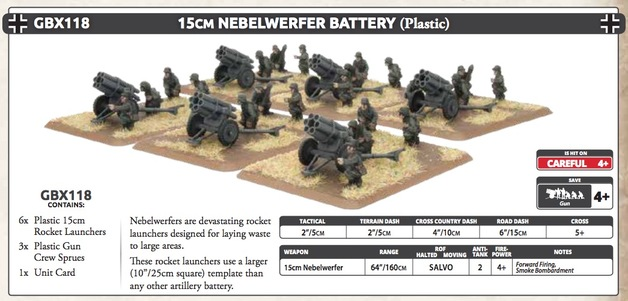 15cm Rocket Launcher Battery