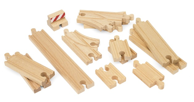 Brio: Railway - Starter Track Pack (13 Pieces)