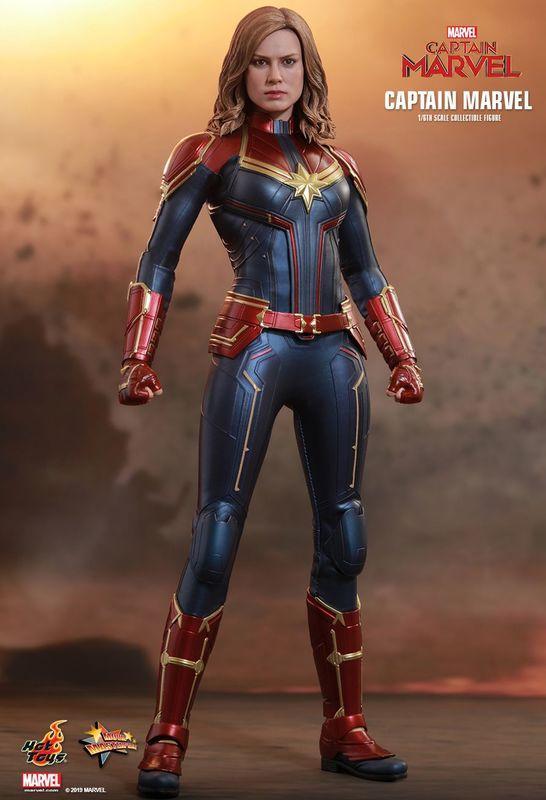 "Captain Marvel: Captain Marvel - 12"" Articulated Figure"