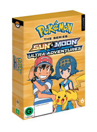 Pokemon The Series: Sun & Moon - Ultra Adventures Complete Collection on DVD