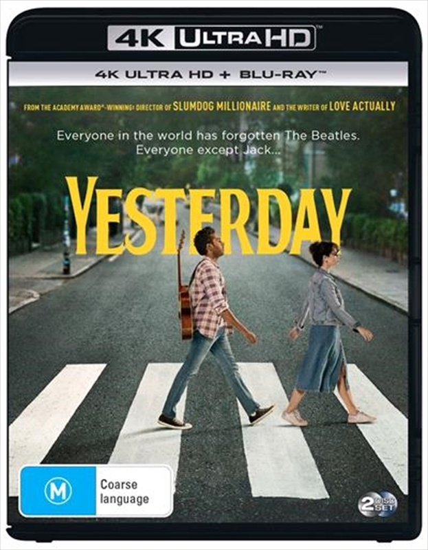 Yesterday on UHD Blu-ray