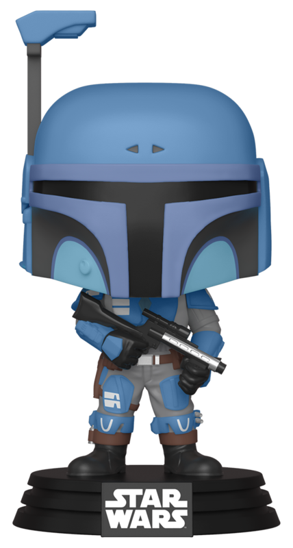 Star Wars: The Mandalorian - Death Watch Mandalorian (Two Stripes) - Pop! Vinyl Figure