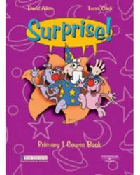 Surprise! Primary 1 Starter and Grammar Practice: Students Book by Stephanie Kordas image