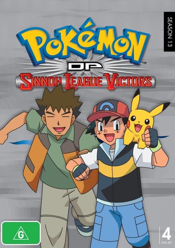 Pokemon - Season 13: Diamond & Pearl - Sinnoh League Victors (Fatpack) on DVD