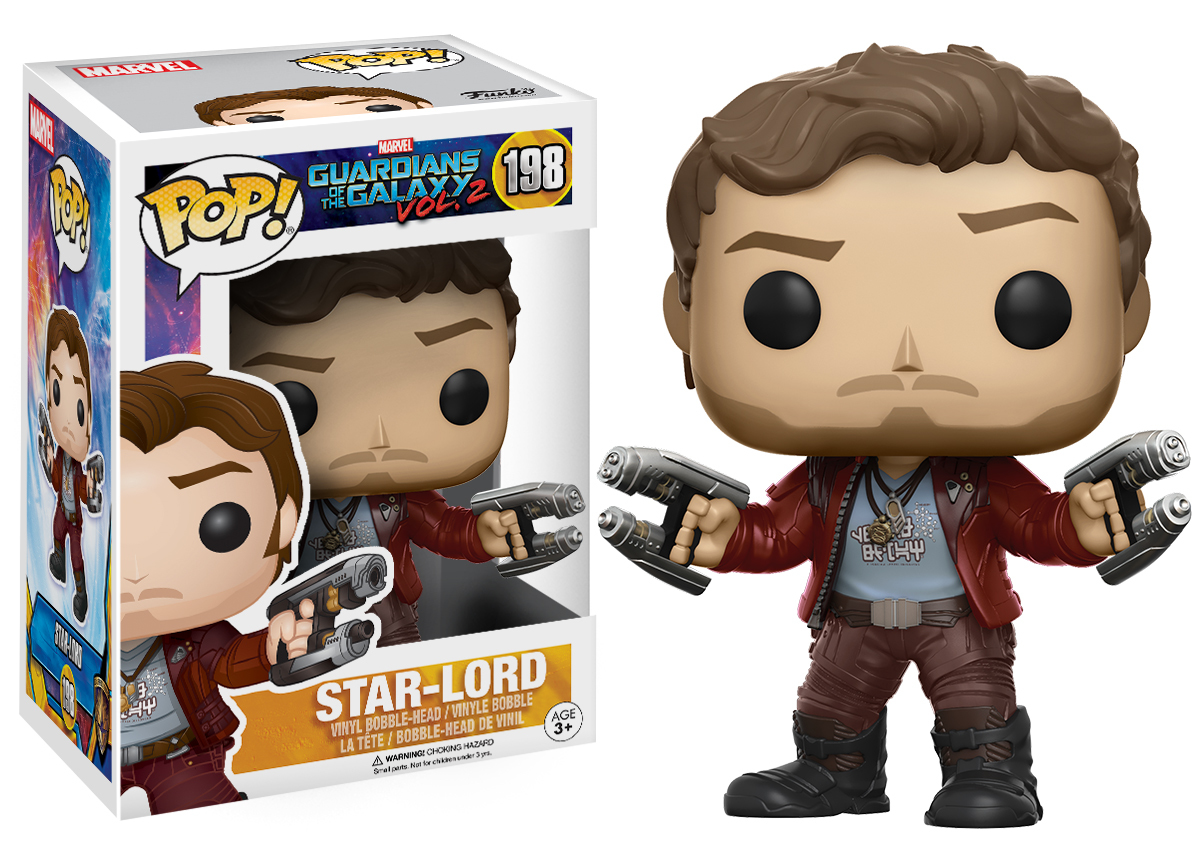 Guardians of the Galaxy: Vol. 2 - Star-Lord Pop! Vinyl Figure image