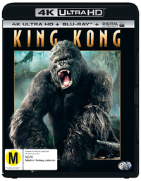 King Kong on Blu-ray, UHD Blu-ray
