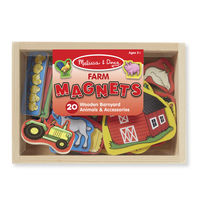 Melissa & Doug: Wooden Farm Magnets