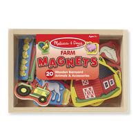 Melissa & Doug: Wooden Farm Magnets