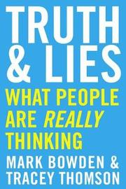 Truth and Lies by Mark Bowden image