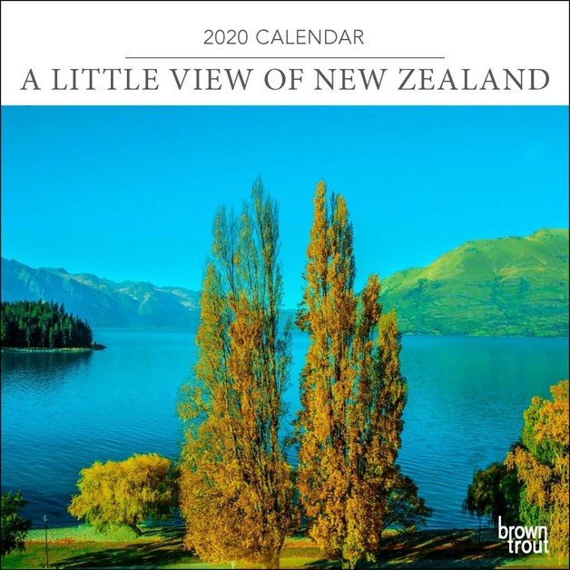 Little View of New Zealand, A 2020 Mini Wall Calendar