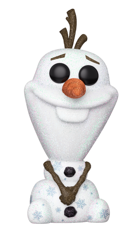 Frozen 2: Olaf (Diamond Glitter) - Pop! Vinyl Figure