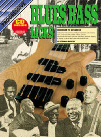 Progressive Blues Bass Licks: CD Pack by Richter image